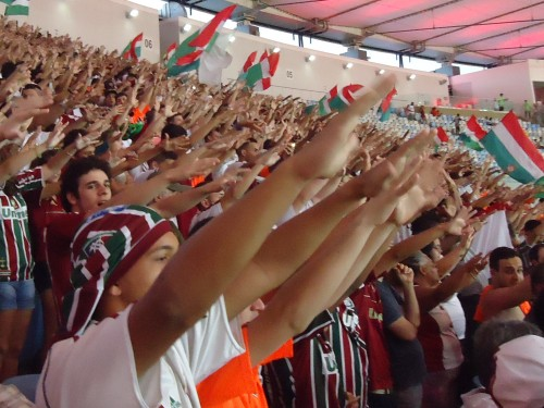 Fluminense: a arquibancada unida poderá fazer a diferença (Foto: Vinicius Toledo / Explosão Tricolor)