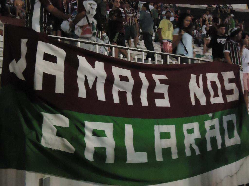 O Fluminense não pode ficar calado! (Foto: Vinicius Toledo / Explosão Tricolor)